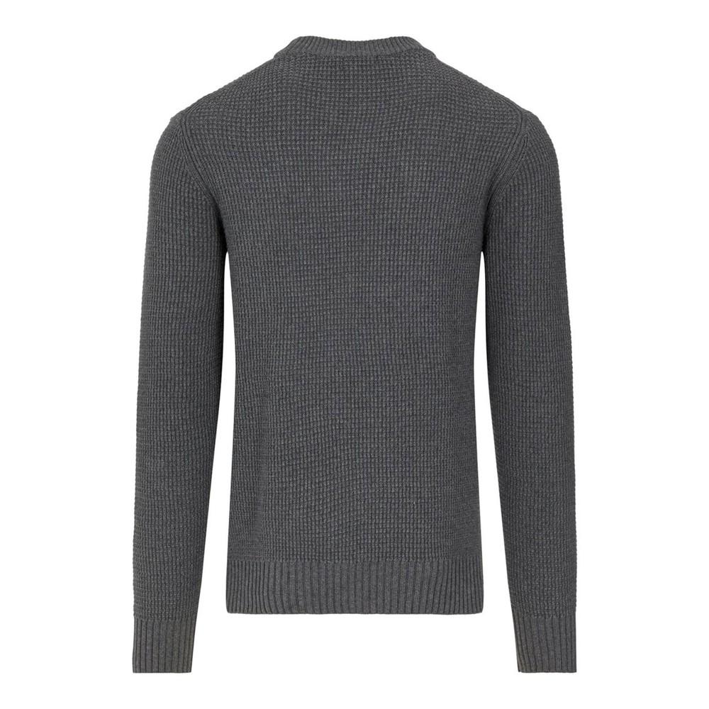 J.Lindeberg Oliver Structure Sweater Dark Grey