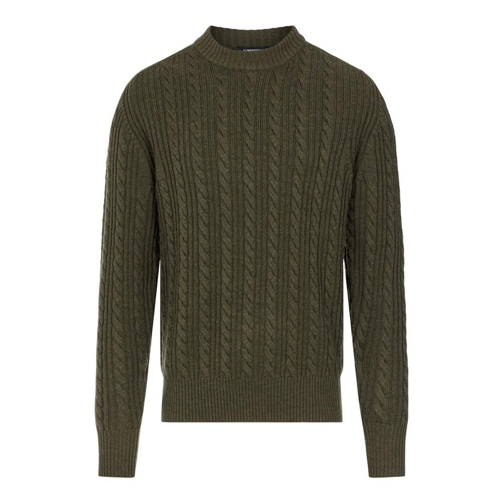 J.Lindeberg Henry Cabel Sweater Green