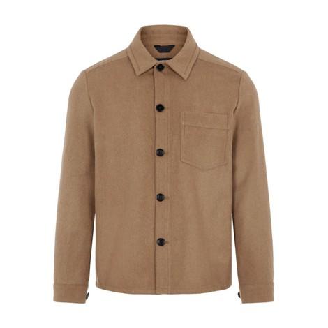 J.Lindeberg Flat Wool Overshirt