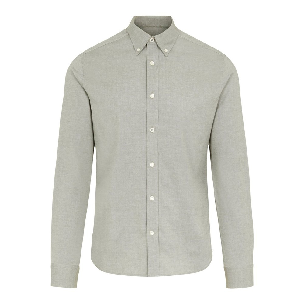 J.Lindeberg Stretch Oxford Slim Shirt Green