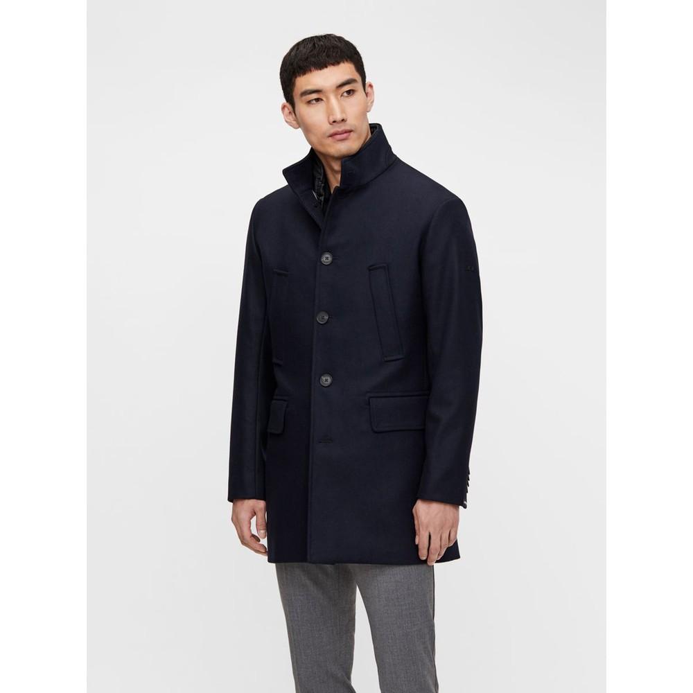 J.Lindeberg Kali Wool Coat Navy
