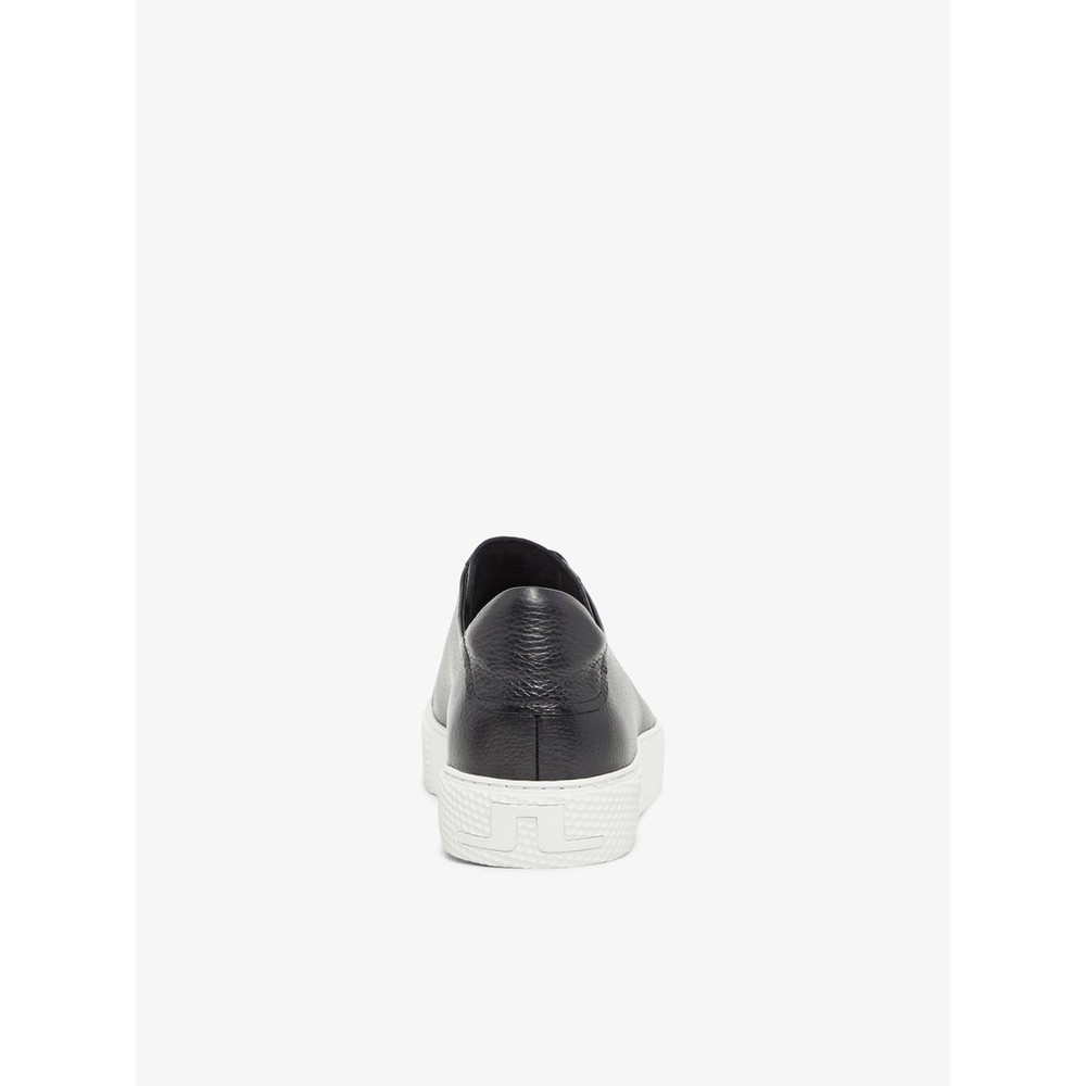 J.Lindeberg Signature Leather Sneaker Black