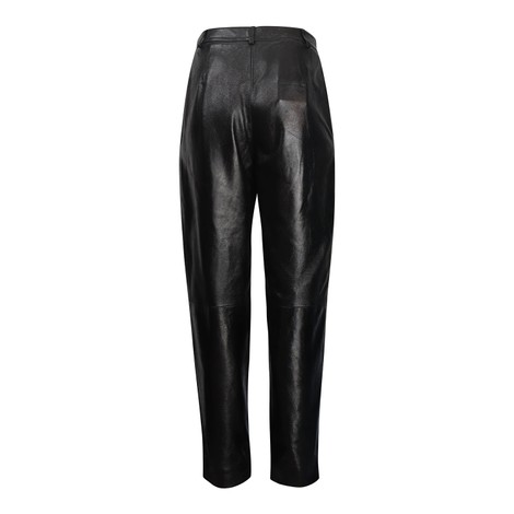 Moschino Boutique Leather Carrot Leg Trouser