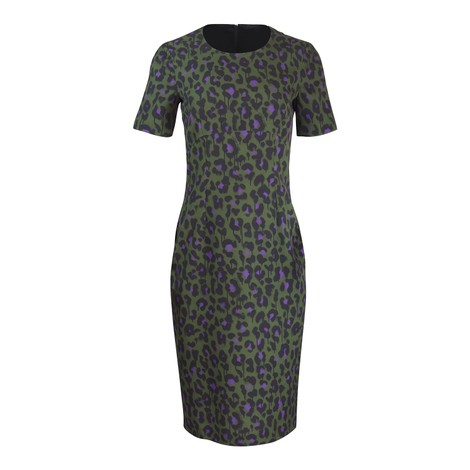 Moschino Boutique Animal Print Dress