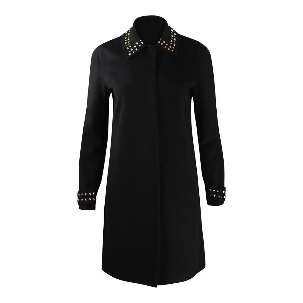 Marella Brigida Studded Coat Black