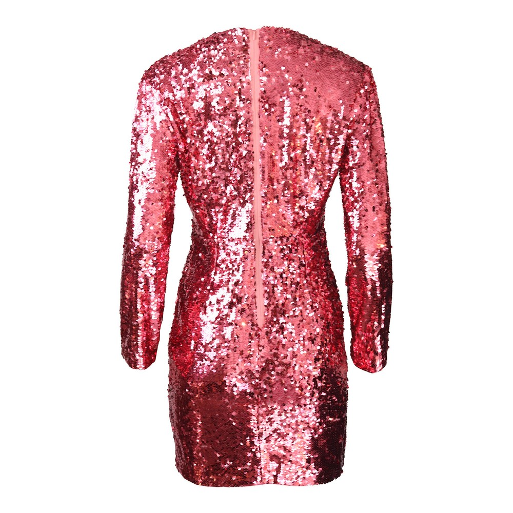 Marella Scoglio Sequin Dress Pink