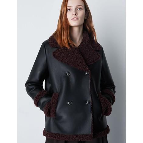 Marella Cento Faux Shearling Jacket