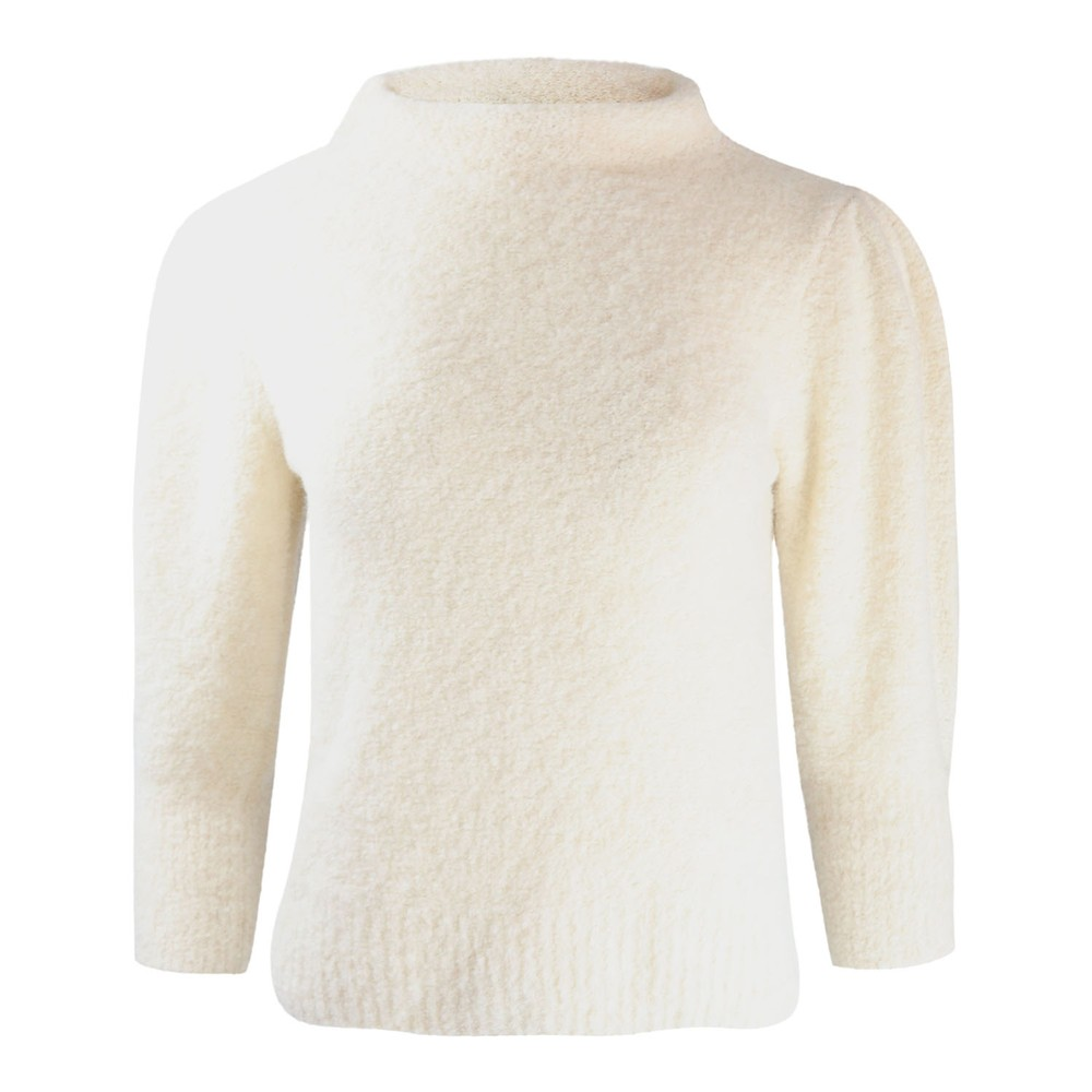 Marella Frase Puff Sleeve Knit White