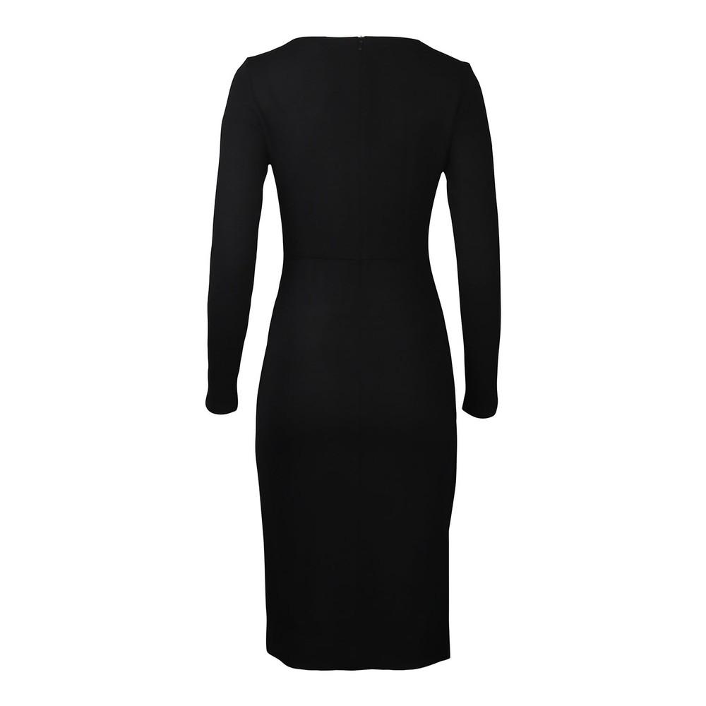 Maxmara Studio Macario Fitted Dress Black