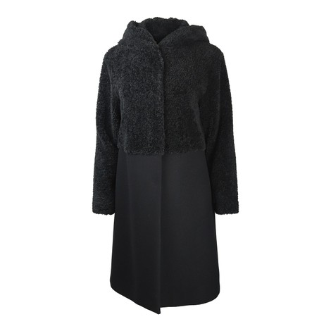 Sportmax Dalida Teddy Fur Coat