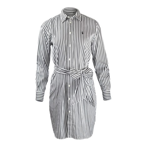 Ralph Lauren Womenswear Striped Casual Dress