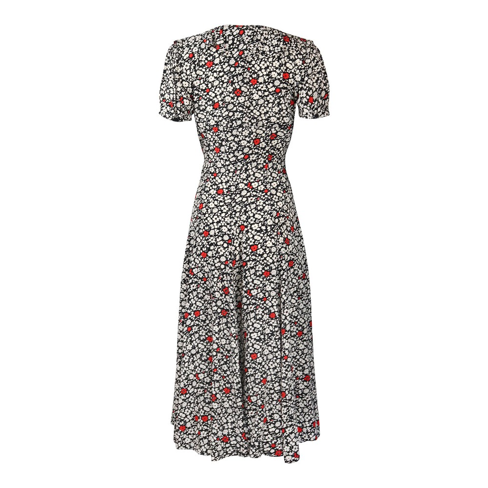 Ralph Lauren Womenswear Poppy Field Casual Dress Floral