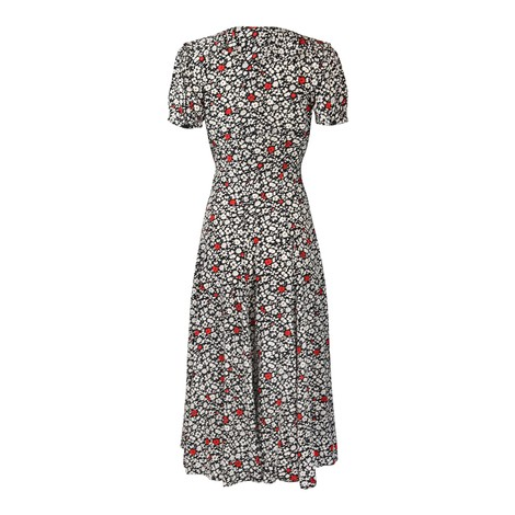 Ralph Lauren Womenswear Poppy Field Casual Dress