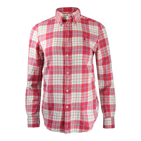 Ralph Lauren Womenswear Georgia Plaid Shirt