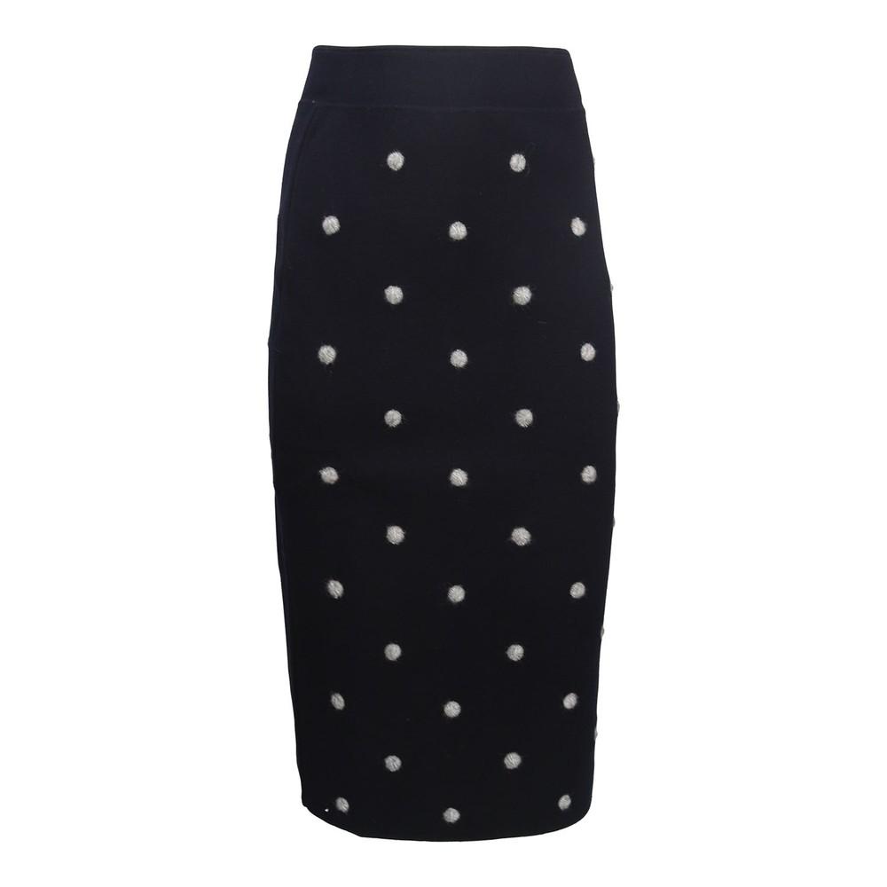 Sportmax Ozio Spot Skirt Navy