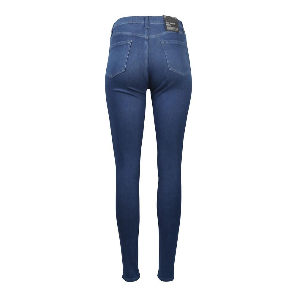 J Brand Maria High Rise Skinny Jeans Denim