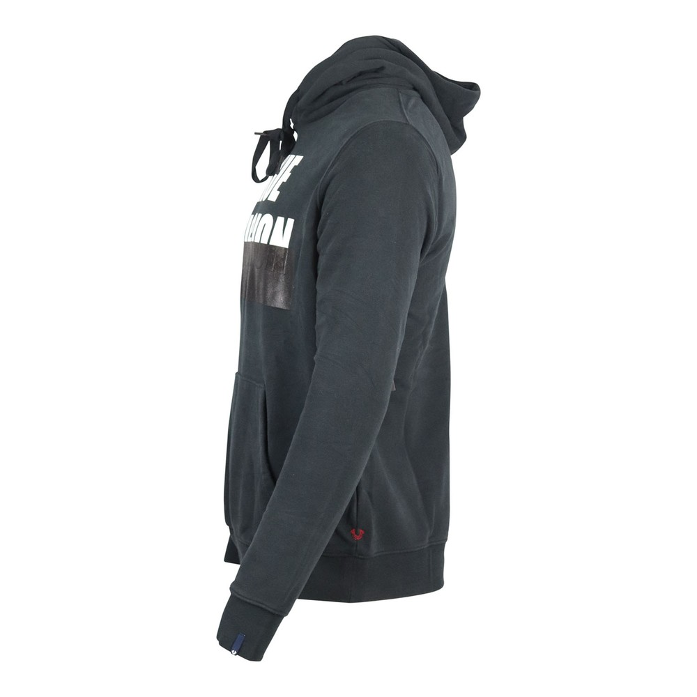 True Religion Hoodie  Embossed Black