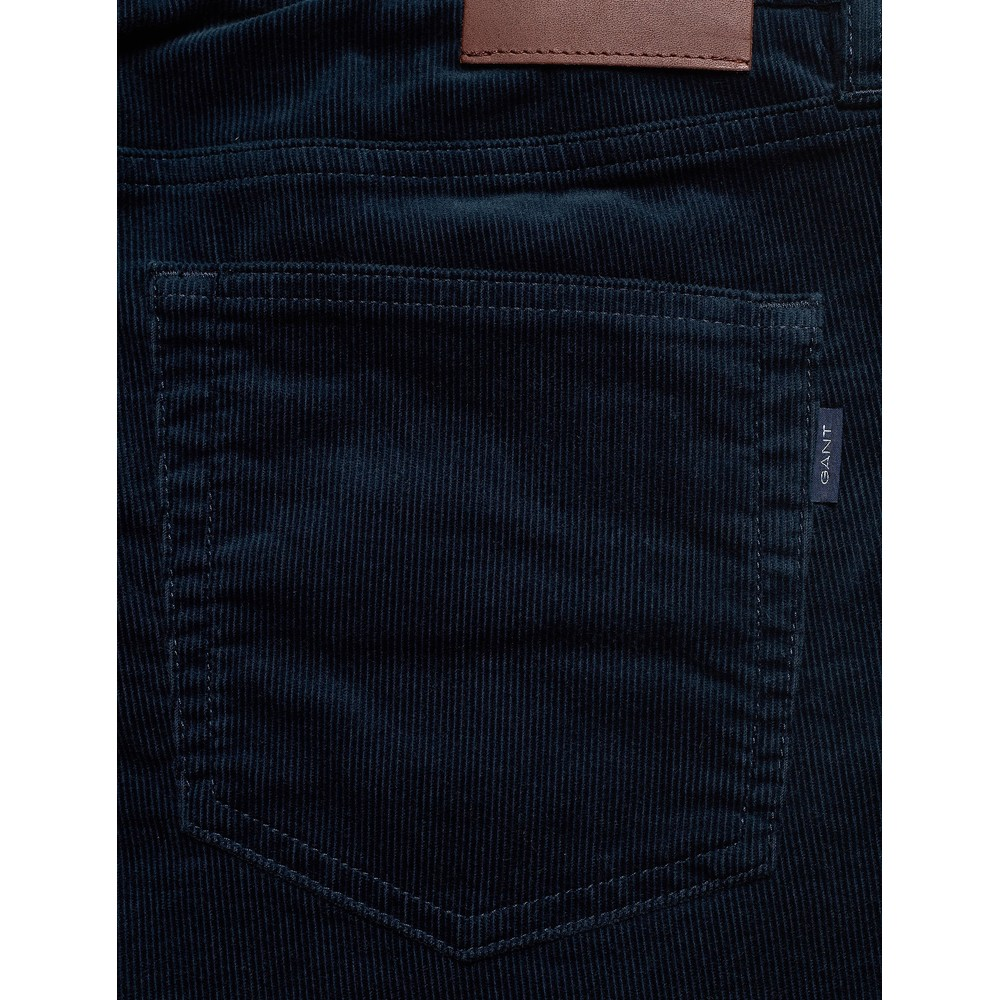 GANT D1. Slim Cord Jeans Navy