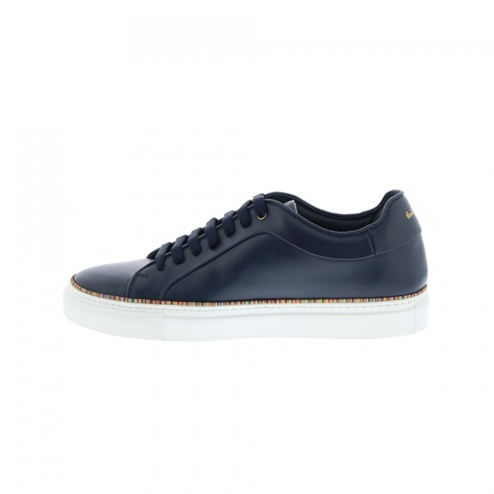 Paul Smith Basso Trainer Multistripe Piping Navy
