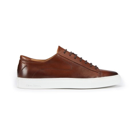 Oliver Sweeney Osima Antiqued Leather Trainer