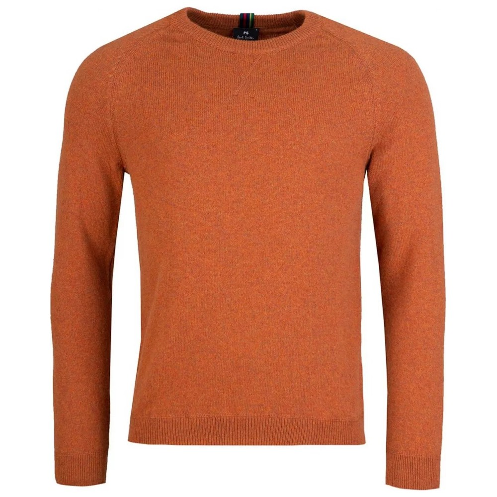 PS Paul Smith Pullover Crew Neck Jumper Orange