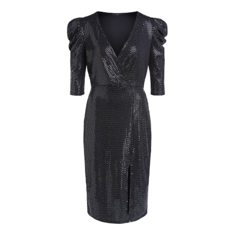 Set Long Sleeve Sparkle Dress