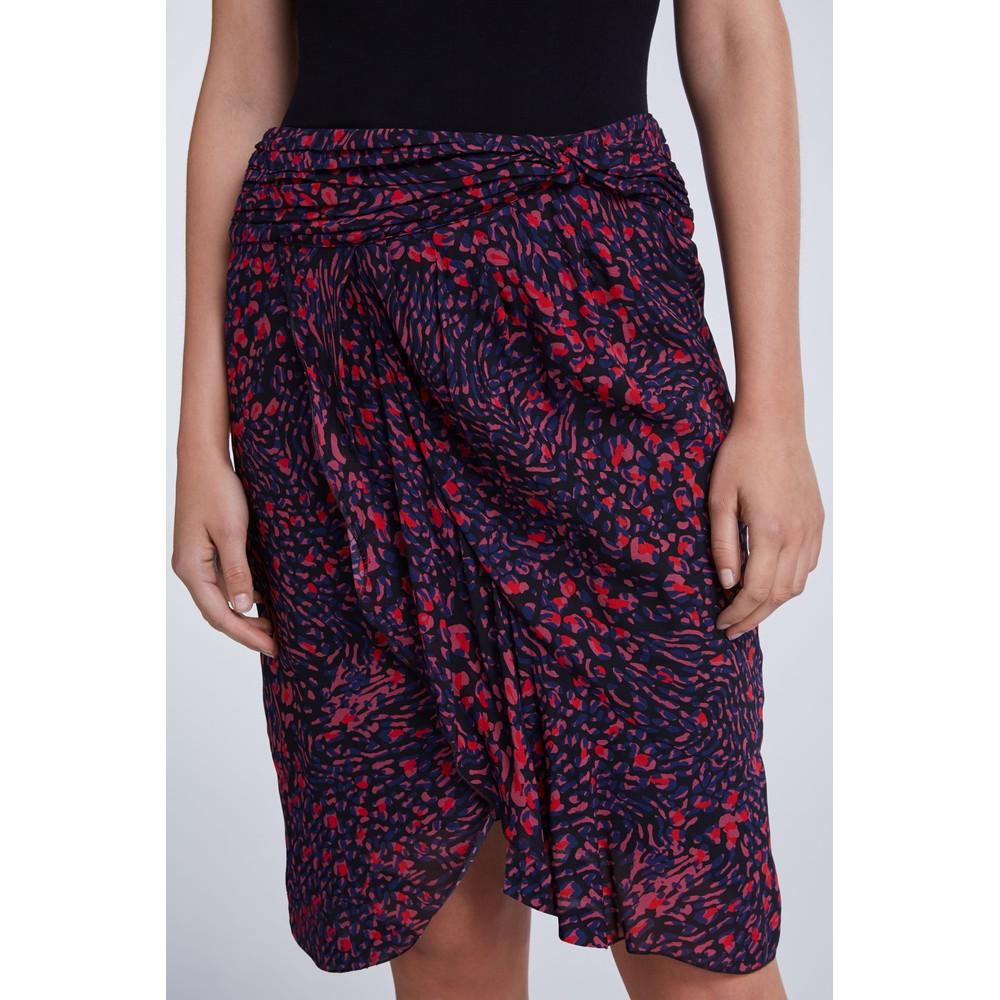 Set Print Skirt Multi