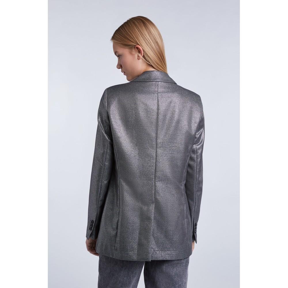 Set Silver Tux Jacket Silver