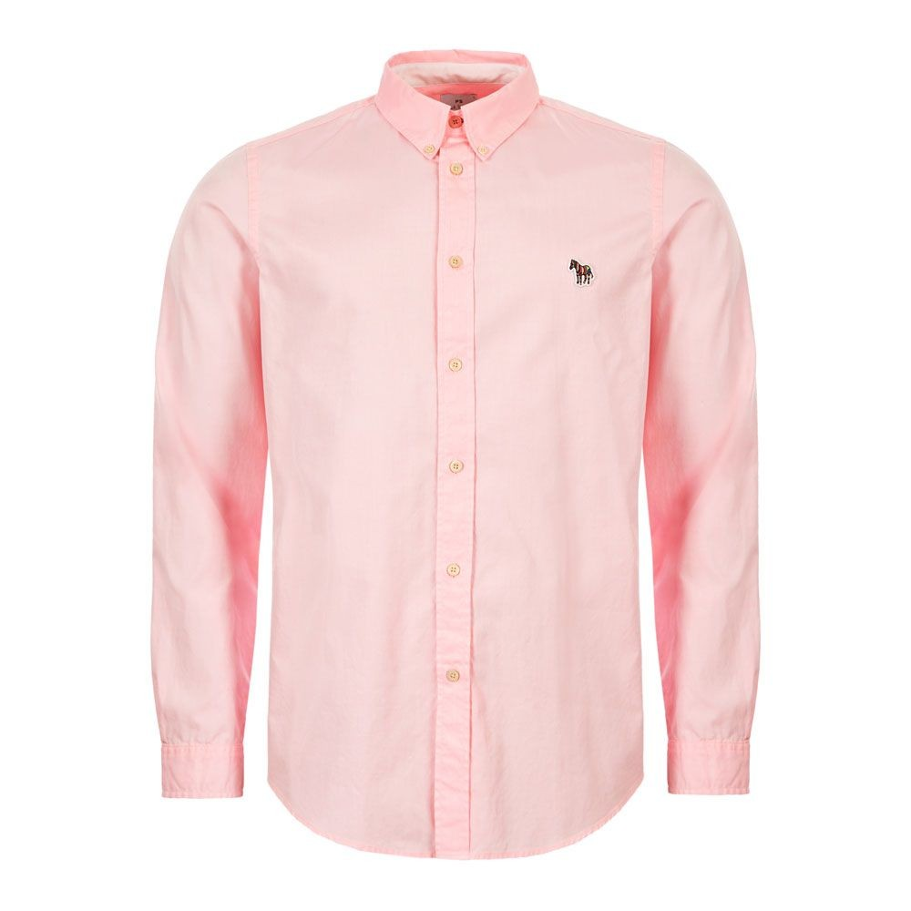 PS Paul Smith Zebra Oxford Shirt Pink