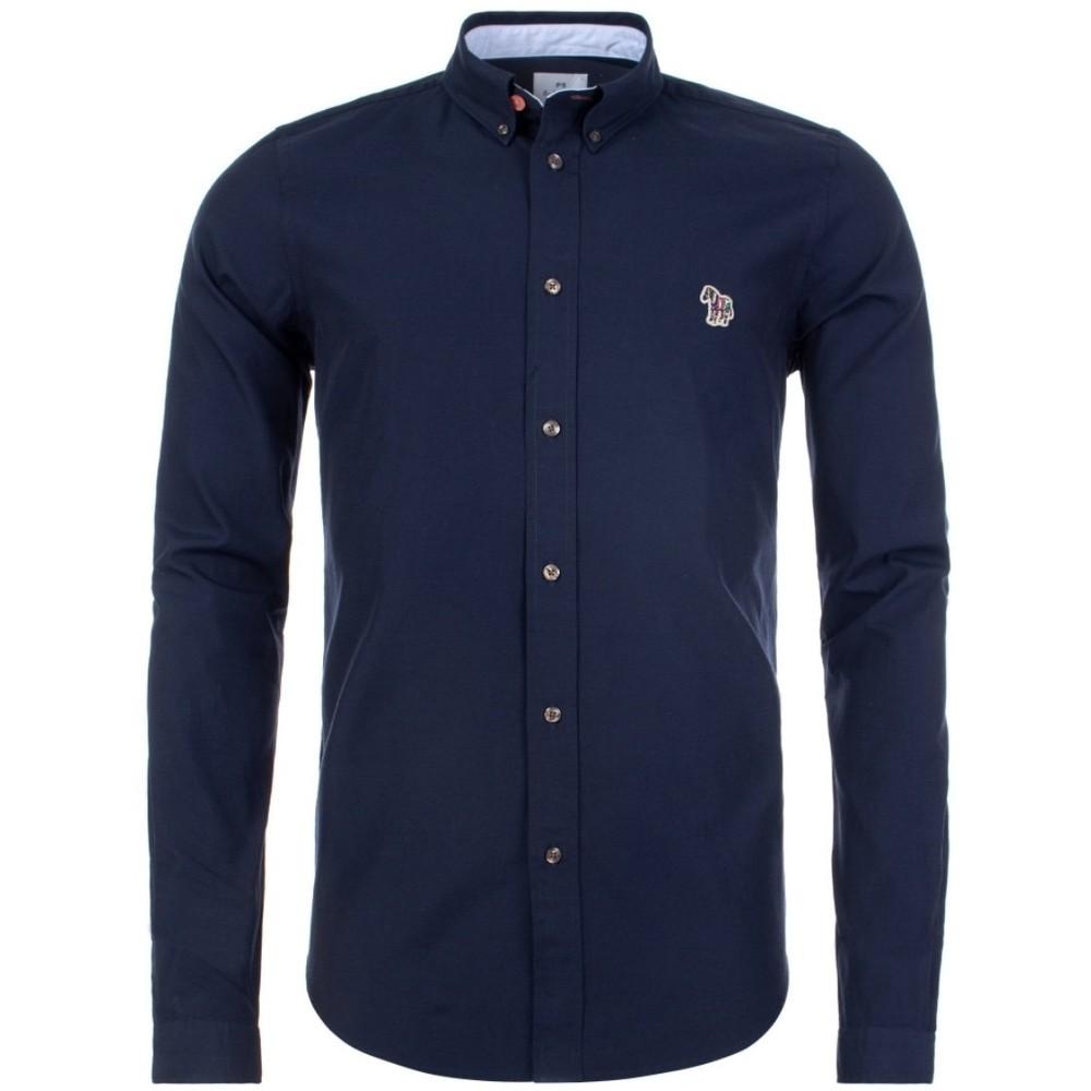 PS Paul Smith Zebra Oxford Shirt Navy