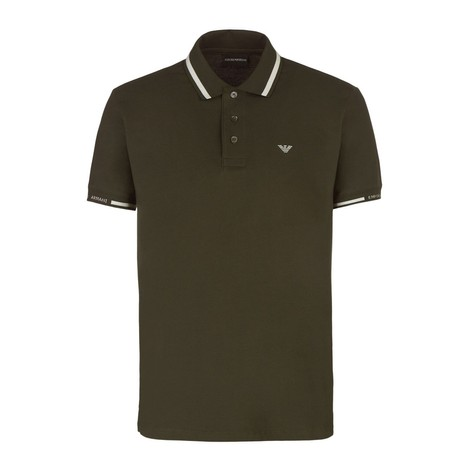 Emporio Armani Trim Collar Polo