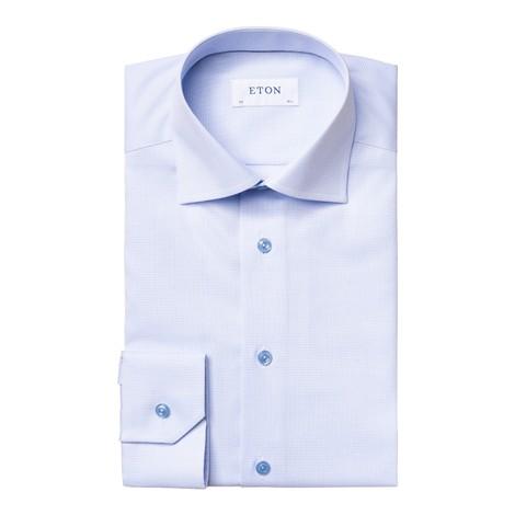 Eton Textured Twill Shirt