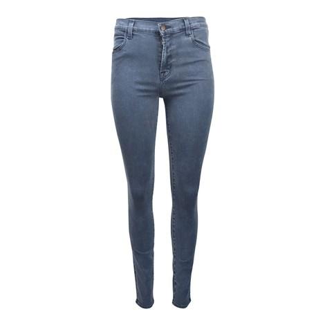 J Brand Maria Chronatic High Waist Jeans