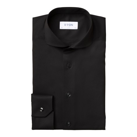 Eton Diagonal Twill Slim Fit Shirt