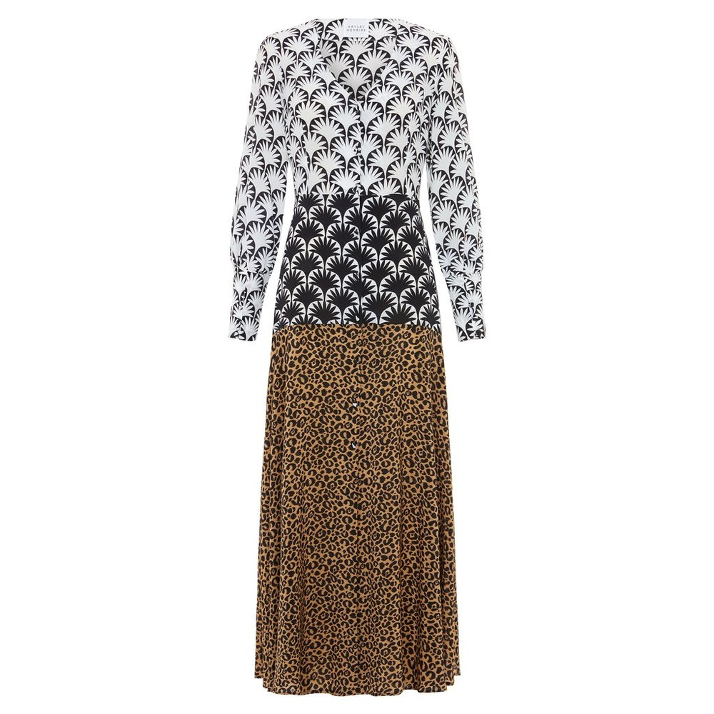 Hayley Menzies Sienna Silk Midaxi Dress Multi