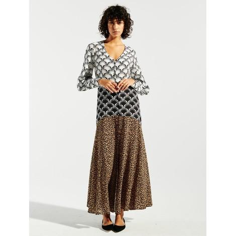 Hayley Menzies Sienna Silk Midaxi Dress