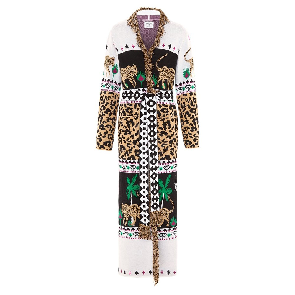 Hayley Menzies Leopardess Cotton Duster Multi