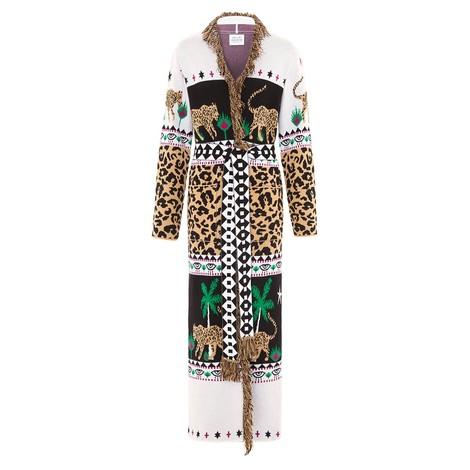 Hayley Menzies Leopardess Cotton Duster in Multi