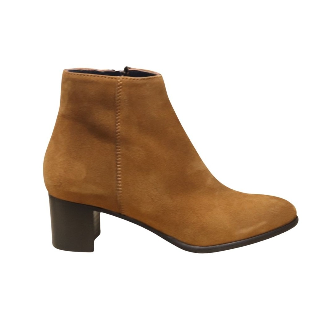 Aristocrat Tan Suede Ankle Boot Tan