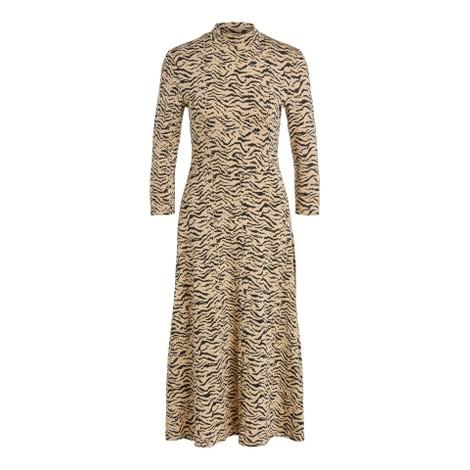 Set Zebra Jersey Dress