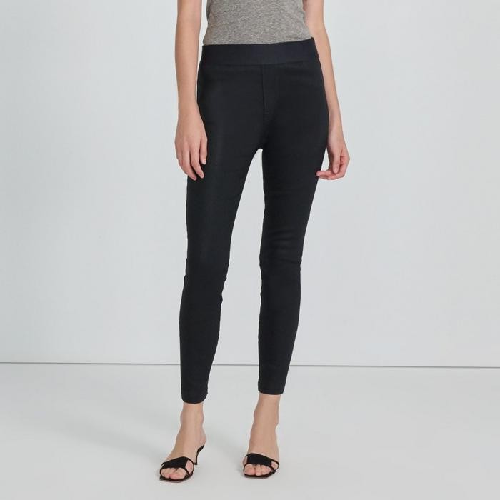 J Brand Dellah High Rise Legging Fearful Black