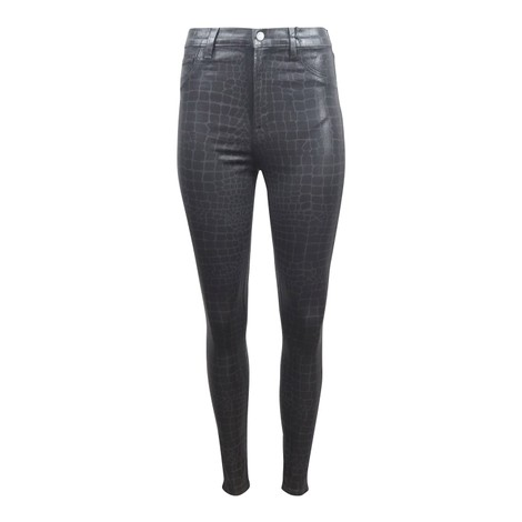 J Brand Leenah High Rise Ankle Skinny Jeans Caiman