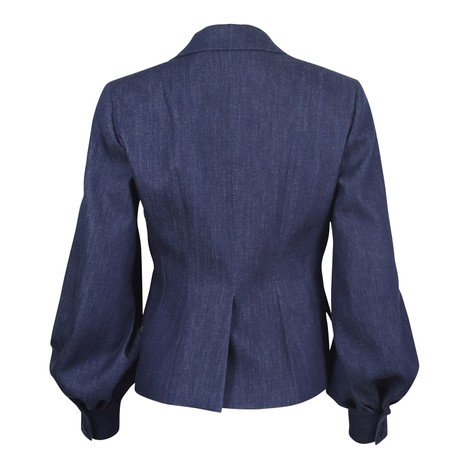 Sportmax Denim Jacket Puff Sleeve
