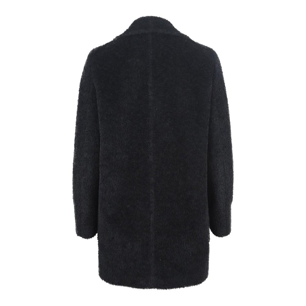 Maxmara Double Breasted Coat Black