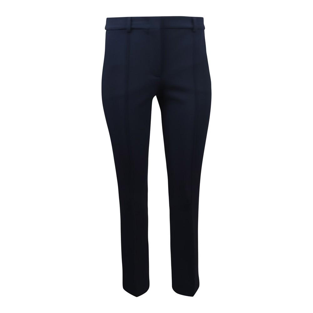 Sportmax Navy Stretch Trouser Navy