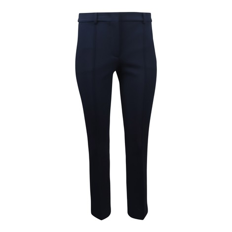Sportmax Navy Stretch Trouser