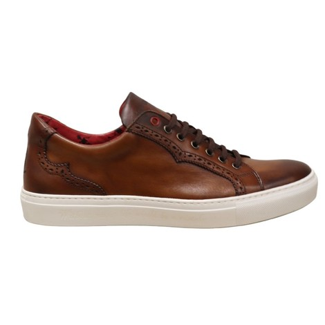 Jeffery West Brogue Castano Trainer