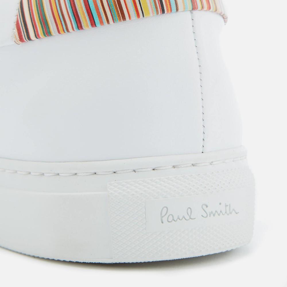 Paul Smith Basso Trainer Multistripe Heel White