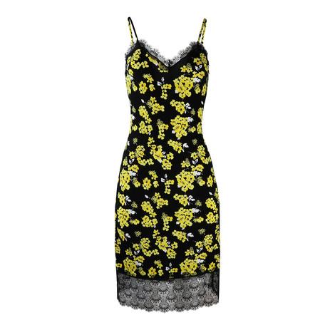Michael Kors Floral Slip Dress