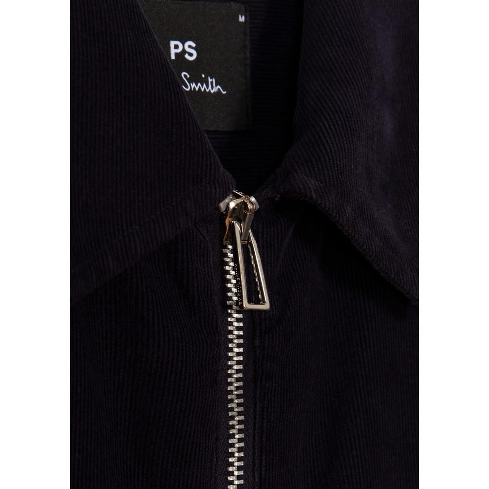 PS Paul Smith Zip Overshirt Navy